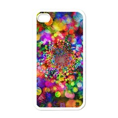 Background Color Pattern Structure Apple Iphone 4 Case (white)