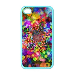 Background Color Pattern Structure Apple Iphone 4 Case (color)