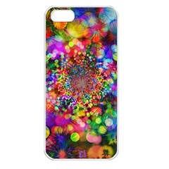 Background Color Pattern Structure Apple Iphone 5 Seamless Case (white)