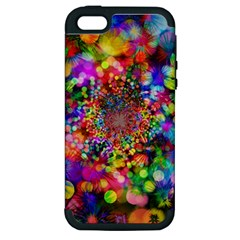 Background Color Pattern Structure Apple Iphone 5 Hardshell Case (pc+silicone)