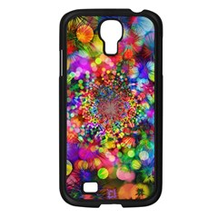 Background Color Pattern Structure Samsung Galaxy S4 I9500/ I9505 Case (black)