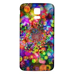 Background Color Pattern Structure Samsung Galaxy S5 Back Case (white)