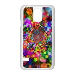 Background Color Pattern Structure Samsung Galaxy S5 Case (white)