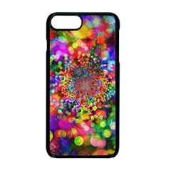 Background Color Pattern Structure Apple Iphone 8 Plus Seamless Case (black)