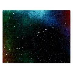 Galaxy Space Universe Astronautics Rectangular Jigsaw Puzzl