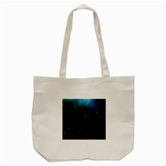 Galaxy Space Universe Astronautics Tote Bag (cream)