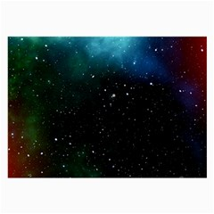 Galaxy Space Universe Astronautics Large Glasses Cloth (2 Side)