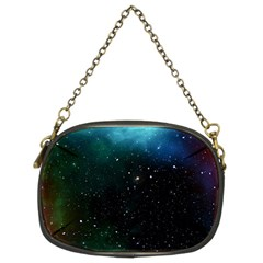 Galaxy Space Universe Astronautics Chain Purses (two Sides)