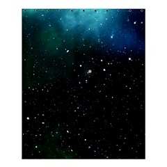 Galaxy Space Universe Astronautics Shower Curtain 60  X 72  (medium)