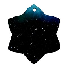 Galaxy Space Universe Astronautics Snowflake Ornament (two Sides)