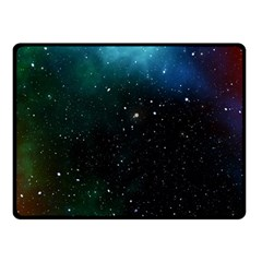Galaxy Space Universe Astronautics Double Sided Fleece Blanket (small)