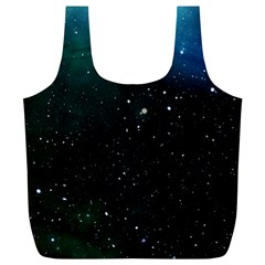 Galaxy Space Universe Astronautics Full Print Recycle Bags (l)