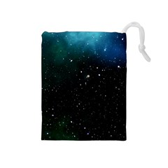 Galaxy Space Universe Astronautics Drawstring Pouches (medium)
