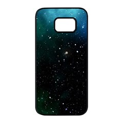 Galaxy Space Universe Astronautics Samsung Galaxy S7 Edge Black Seamless Case