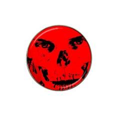 Halloween Face Horror Body Bone Hat Clip Ball Marker (10 Pack)
