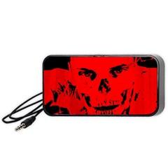 Halloween Face Horror Body Bone Portable Speaker