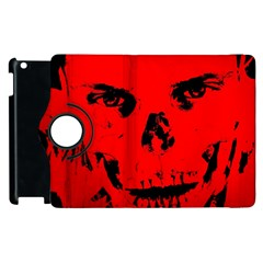 Halloween Face Horror Body Bone Apple Ipad 3/4 Flip 360 Case