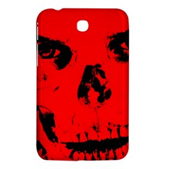 Halloween Face Horror Body Bone Samsung Galaxy Tab 3 (7 ) P3200 Hardshell Case
