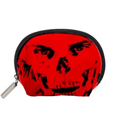 Halloween Face Horror Body Bone Accessory Pouches (small)