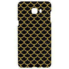 Scales1 Black Marble & Yellow Denim (r) Samsung C9 Pro Hardshell Case