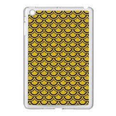 Scales2 Black Marble & Yellow Denim Apple Ipad Mini Case (white)