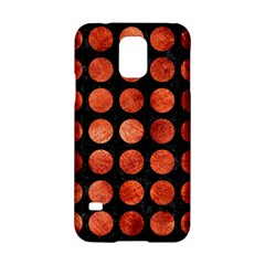 Circles1 Black Marble & Copper Paint (r) Samsung Galaxy S5 Hardshell Case