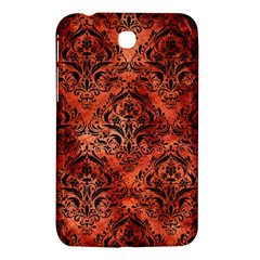 Damask1 Black Marble & Copper Paint Samsung Galaxy Tab 3 (7 ) P3200 Hardshell Case