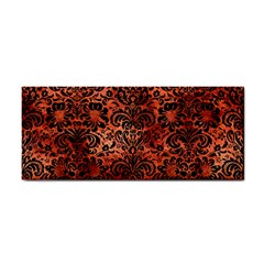 Damask2 Black Marble & Copper Paint Cosmetic Storage Cases