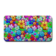 Flowers Ornament Decoration Medium Bar Mats