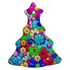 Flowers Ornament Decoration Ornament (christmas Tree)