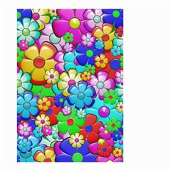 Flowers Ornament Decoration Small Garden Flag (two Sides)