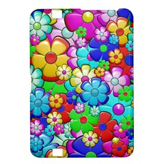 Flowers Ornament Decoration Kindle Fire Hd 8 9