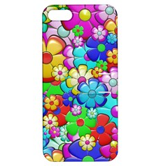 Flowers Ornament Decoration Apple Iphone 5 Hardshell Case With Stand