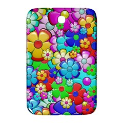 Flowers Ornament Decoration Samsung Galaxy Note 8 0 N5100 Hardshell Case
