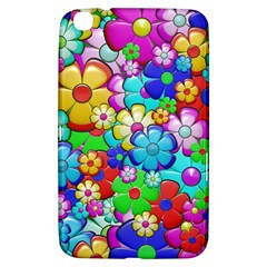 Flowers Ornament Decoration Samsung Galaxy Tab 3 (8 ) T3100 Hardshell Case