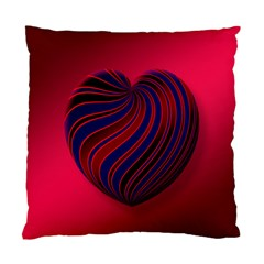 Heart Love Luck Abstract Standard Cushion Case (two Sides)