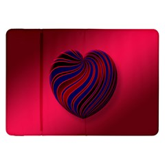 Heart Love Luck Abstract Samsung Galaxy Tab 8 9  P7300 Flip Case