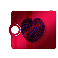 Heart Love Luck Abstract Kindle Fire Hdx 8 9  Flip 360 Case