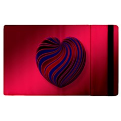 Heart Love Luck Abstract Apple Ipad Pro 12 9   Flip Case