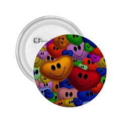Heart Love Smile Smilie 2 25  Buttons