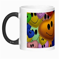 Heart Love Smile Smilie Morph Mugs