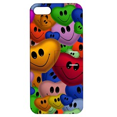 Heart Love Smile Smilie Apple Iphone 5 Hardshell Case With Stand