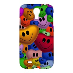 Heart Love Smile Smilie Samsung Galaxy S4 I9500/i9505 Hardshell Case