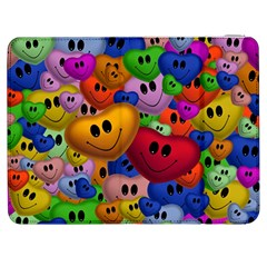 Heart Love Smile Smilie Samsung Galaxy Tab 7  P1000 Flip Case