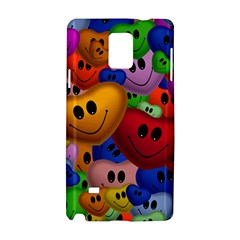 Heart Love Smile Smilie Samsung Galaxy Note 4 Hardshell Case