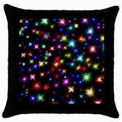 Fireworks Rocket New Year S Day Throw Pillow Case (black)