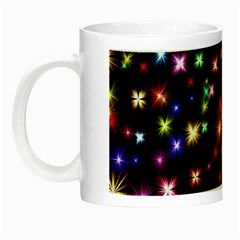 Fireworks Rocket New Year S Day Night Luminous Mugs