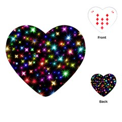 Fireworks Rocket New Year S Day Playing Cards (heart)