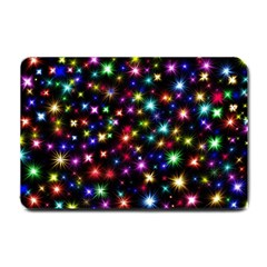 Fireworks Rocket New Year S Day Small Doormat