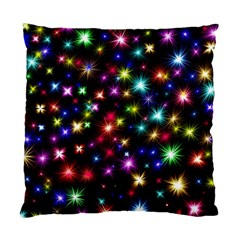 Fireworks Rocket New Year S Day Standard Cushion Case (two Sides)